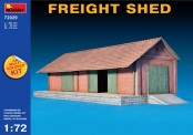MiniArt 72029 Freight Shed Model of Building