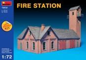 MiniArt 72032 Feuerwehr Station - Fire Station