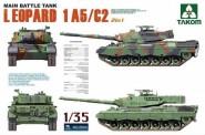 Takom 2004 Main Battle Tank Leopard 1 A5/C2