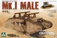 Takom 2031 WWI Heavy Battle Tank Mk.I