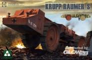 Takom 2053 German Super Heavy Cleaning Vehicle