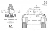 Takom 2097 Panther Ausf.A early prod. full interior
