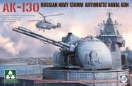 Takom 2129 Russian Navy 130mm Naval Gun AK-130