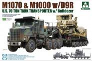 Takom 5002 M1070 & M1000 w/D9R