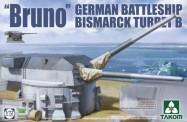 Takom 5012 Bruno German Battleship Bismarck Turret