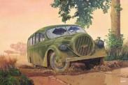 Roden 728 Opel Blitz Bus Ludewig AERO WWII