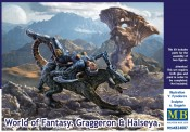 Master Box Ltd. MB24007 World of Fantasy Graggeron & Halseya
