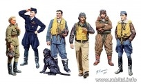 Master Box Ltd. MB3201 Famous pilots of WW II kit 1