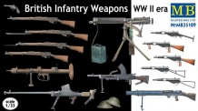 Master Box Ltd. MB35109 British Infantry weapons WWII era