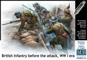Master Box Ltd. MB35114 British Infantry before the attack, WWI