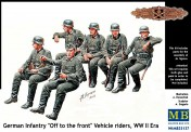 Master Box Ltd. MB35137 German Infantry on the march WWII