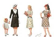 Master Box Ltd. MB35148 Frauen Zivil WWII