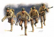 Master Box Ltd. MB3520 US Rangers Normandy 1944 Figuren