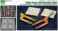 Belkits PPA4003 Pallet Truck With Wooden Pallet