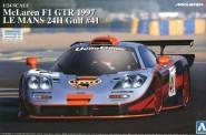 Aoshima 00747 McLaren F1 GTR 1997 Le Mans 24h Gulf #41