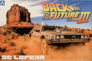 Aoshima 01187 DeLorean DMC Back to the Future 3