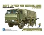 Aoshima 01208 JGSDF truck with armor