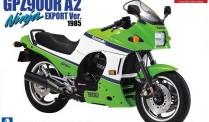 Aoshima 05397 Kawasaki GPZ900R Ninja A2