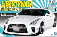 Aoshima 05590 Libertywalk - LB Works R35 GT-R type 1.5
