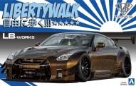 Aoshima 055915 Nissan R35 GT-R Type 2 Libertywalk
