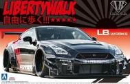 Aoshima 05592 Nissan R35 GT-R Type 2 Libertywalk