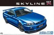 Aoshima 05858 Nissan BNR34 Skyline GT-R V-Spec II '02
