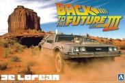 Aoshima 05918 DeLorean DMC Back to the Future 3