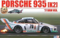 Aoshima B24015 Porsche 935 (K2) 1977 DRM #70 Vaillant