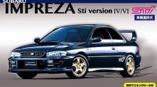 Fujimi 03939 Subaru Impreza Wrx Sti