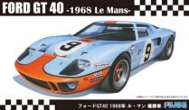 Fujimi 12605 Ford GT40 LeMans 1968 #9 Gulf