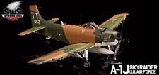 Zoukei-Mura SWS07 DOUGLAS A-1J Skyraider U.S.AIR FORCE