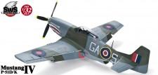 Zoukei-Mura SWS09 P-51D/K Mustang IV