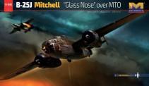 HK Model 01E024 B-25J Mitchell ' Glass Nose ' over MTO