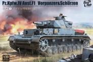 Border Model BT-003 Panzer IV Ausf. F1 mit Zusatzpanzerung