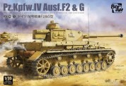 Border Model BT-004 Pz.Kpfw.IV Ausf. F2 & G