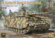 Border Model BT-005 Pz.Kpfw.IV Ausf.H Early/Mid - 2 in 1