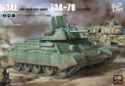 Border Model BT-009 T-34E First Type of Spaced Armour