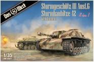 Das Werk DW35021 StuG III Ausf.G / StuH 42 2in1  Zimmerit