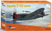 Dora Wings 48029 Republic P-43 Lancer