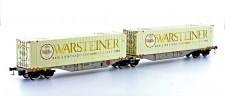 Mehano 58866 AAE Containerwagen 6-achs Ep.6