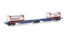 Mehano 58956 Containerwagen 6-achs Ep.6