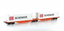Mehano 58957 Wascosa Containerwagen 6-achs Ep.6