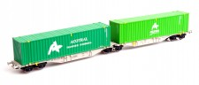 Mehano 58966 AAE Containerwagen Sggmrss'90 Ep.6