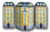 Heki 10050 Eckhaus mit 2 Nebengebäuden