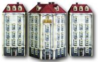 Heki 10060 Eckhaus mit 2 Nebengebäuden