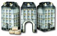 Heki 10070 Torbogenhaus mit 2 Nebengebäuden