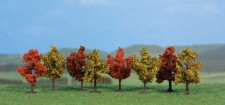 Heki 1141 Laubbäume herbstlich, 8 St.