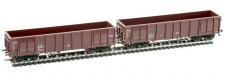 Albert Modell 500000 NACCO offene Güterwagen-Set 2-tlg Ep.6