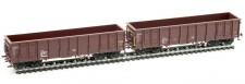 Albert Modell 500001 NACCO offene Güterwagen-Set 2-tlg Ep.6