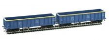 Albert Modell 500002 ZX offene Güterwagen-Set 2-tlg Ep.6